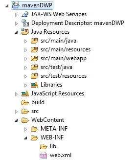 Creation of Dynamic web project with Maven and Eclipse