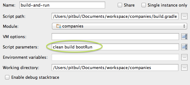 Spring Boot with Gradle and MVC