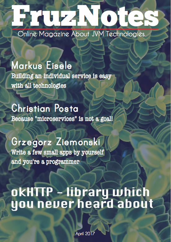 FruzNotes Cover January 2017